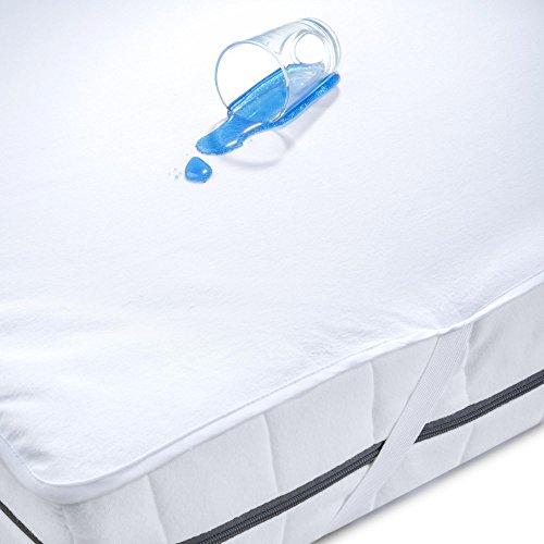wasserundurchl ssige matratzen auflage 90 200 kochfest wasserdichter atmungsaktive molton. Black Bedroom Furniture Sets. Home Design Ideas