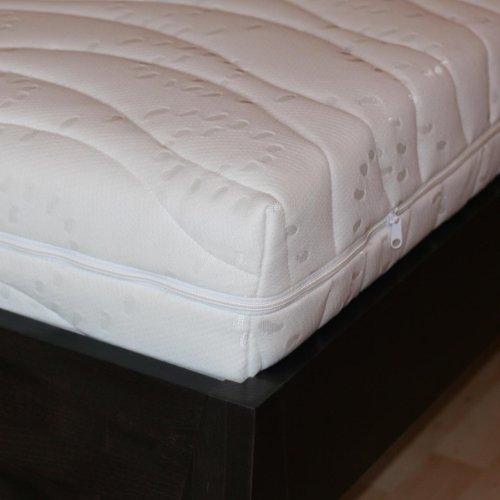 bettwaren shop ersatz matratzenbezug doppeltuch 140 200 cm 16 cm kernh he poribe. Black Bedroom Furniture Sets. Home Design Ideas